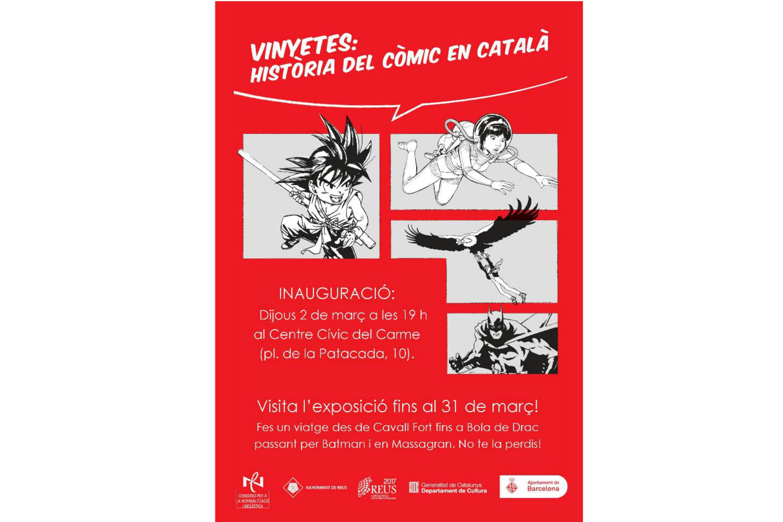 Exposició Vinyetes: història del còmic en català