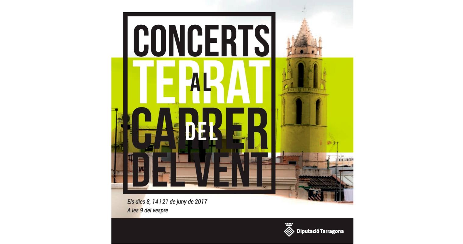 Concert al terrat del carrer del Vent