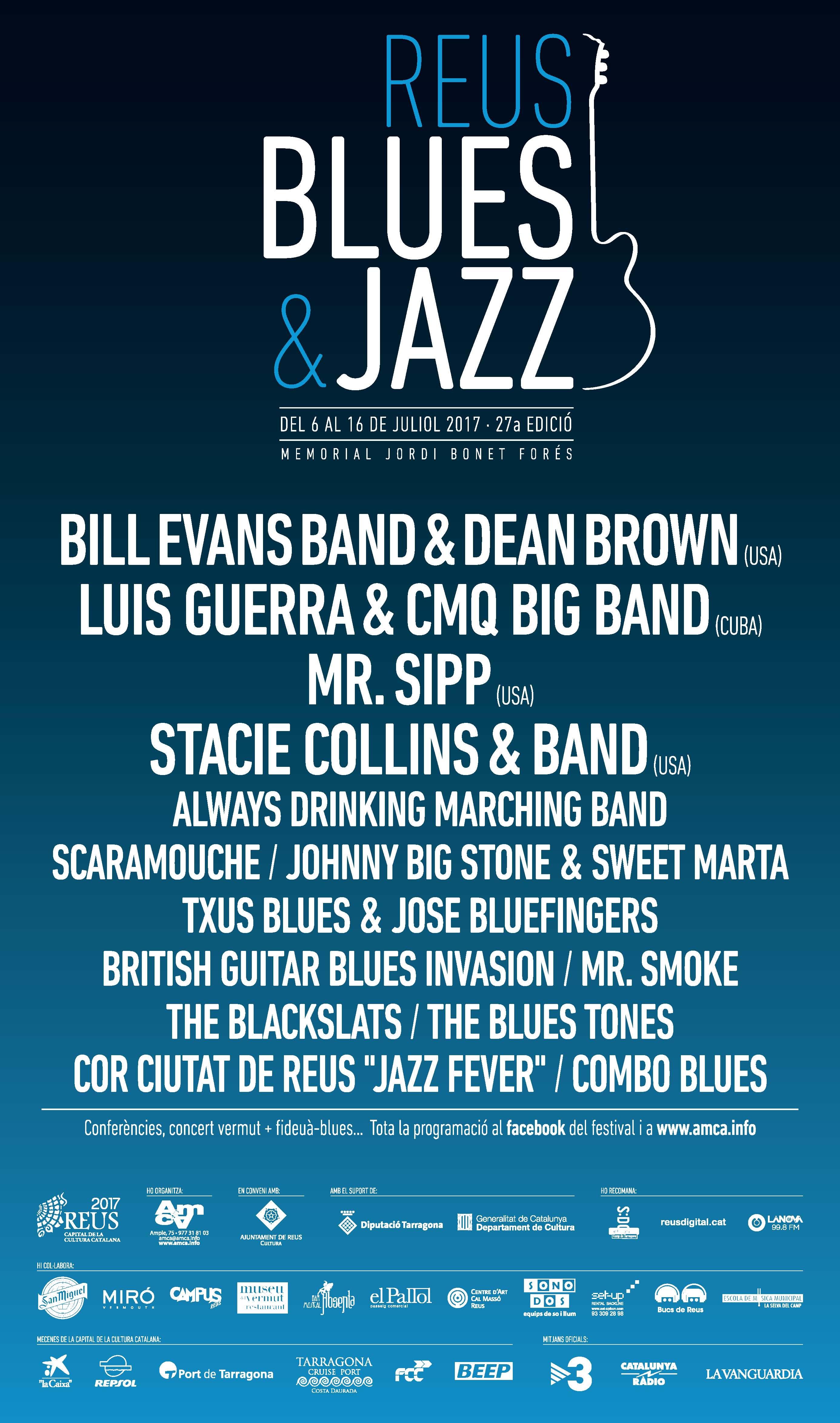 27è Festival Reus Blues & Jazz