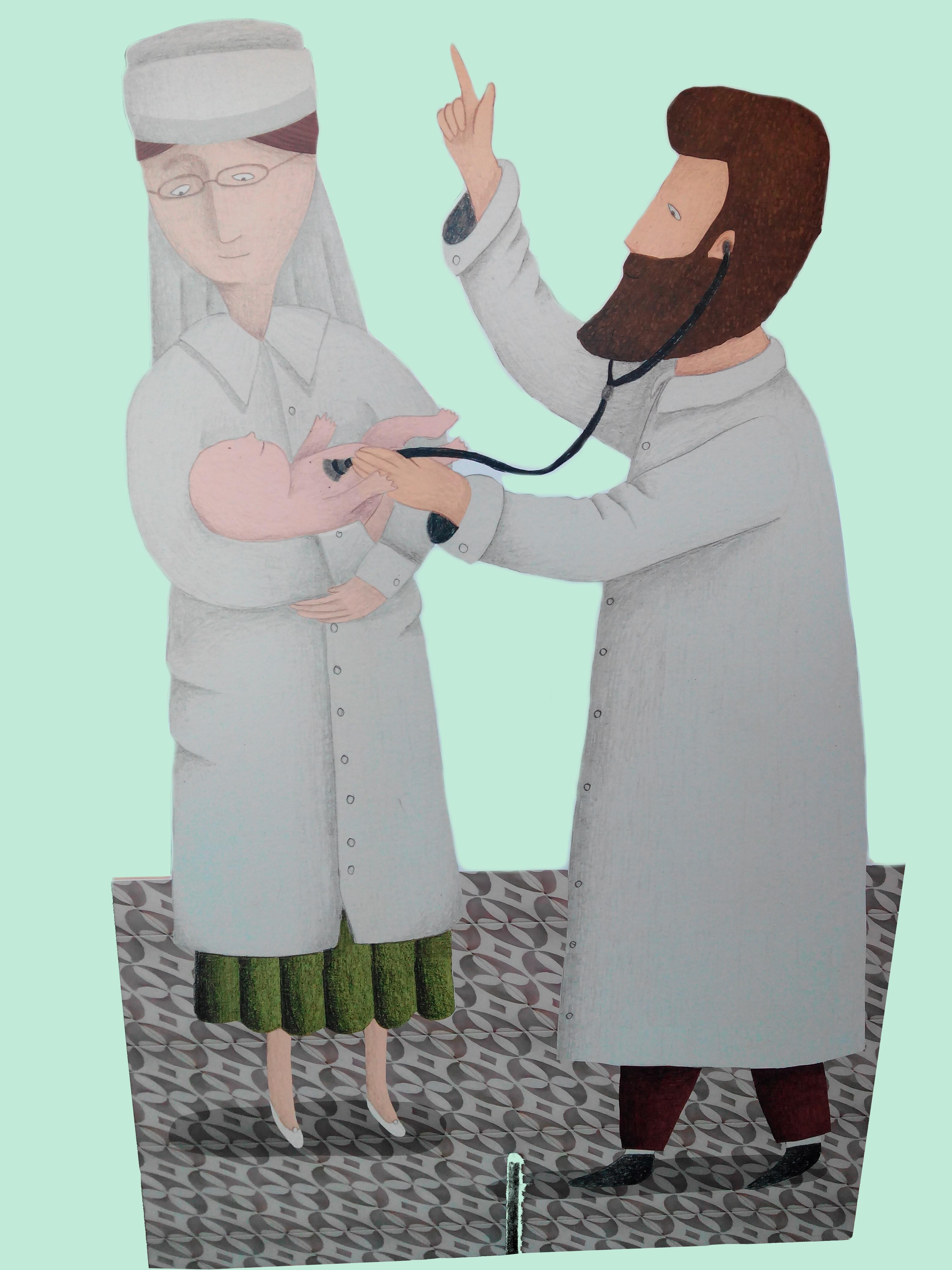 Fem salut amb el Dr. Frias