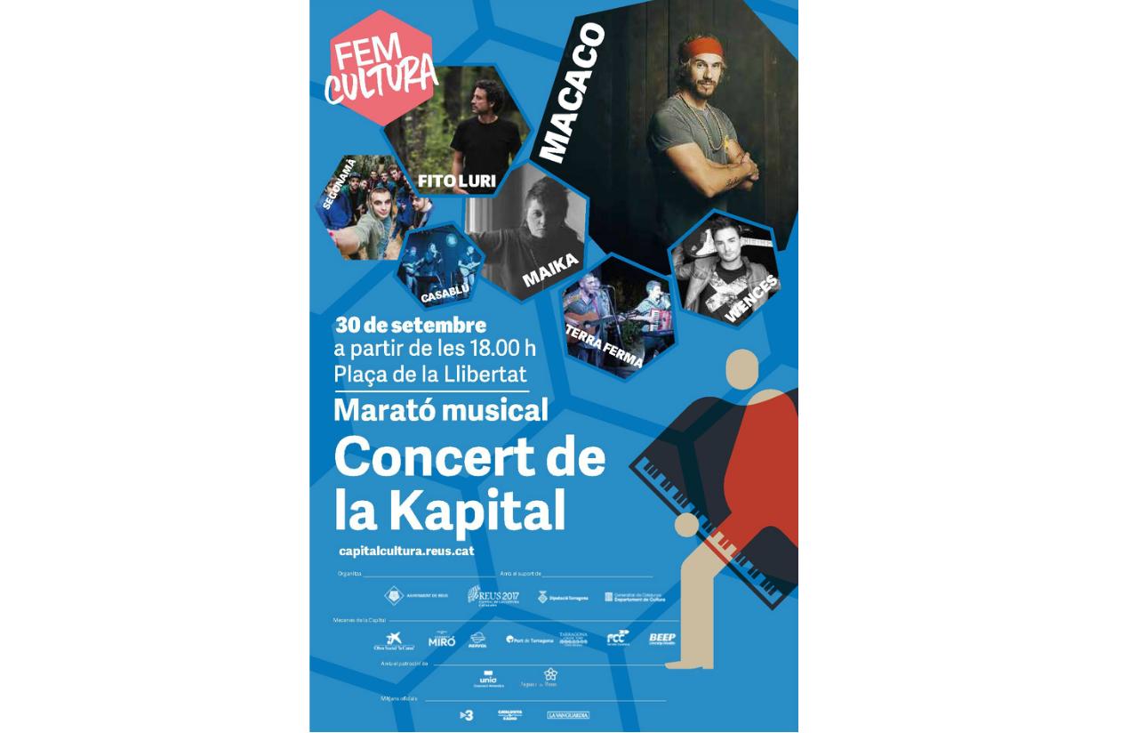 Marató musical. Concert de la Kapital