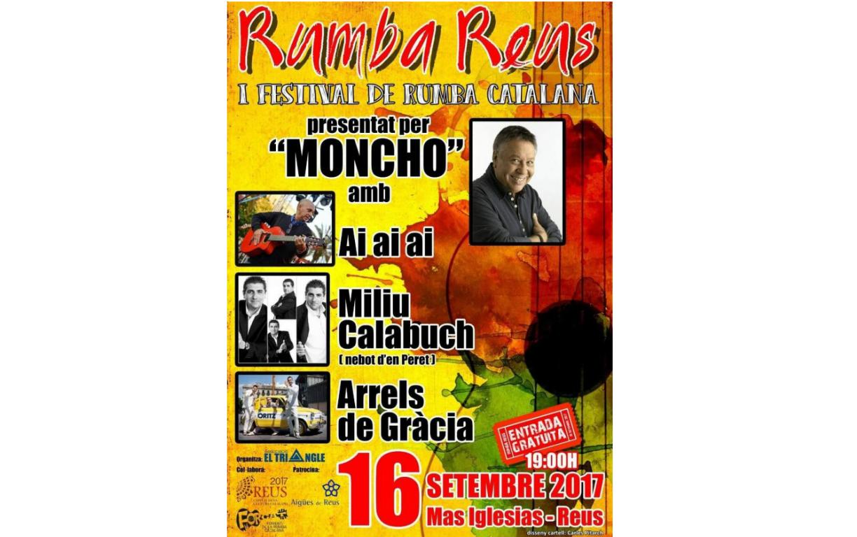 Rumba Reus. Primer festival de Rumba Catalana.