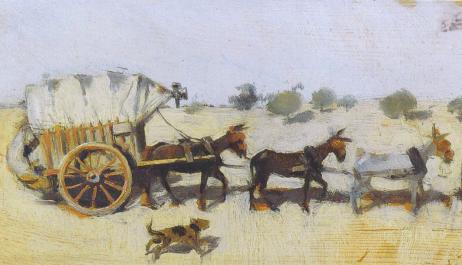 """Conferència sobre l'exposició """"Per Catalunya en carro. Els viatges d'artista de Santiago Rusiñol i Ramon Casas"""
