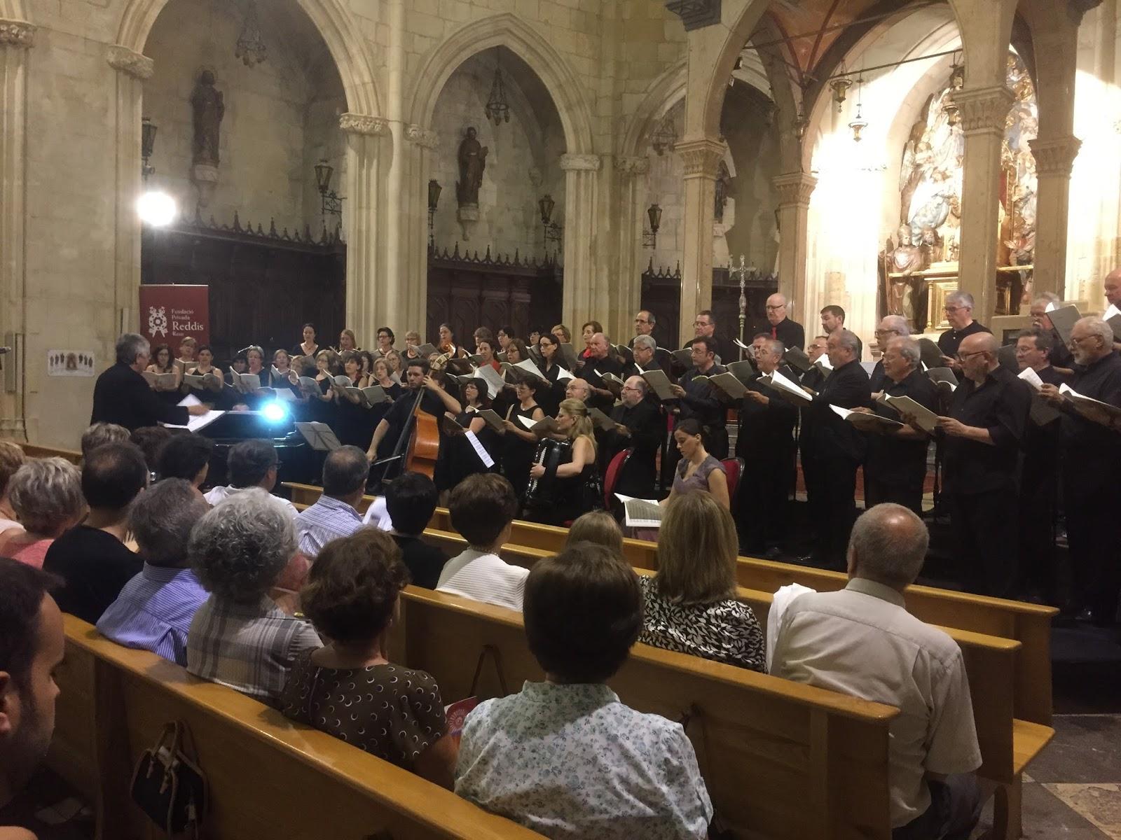 Concert coral A l'entorn del compositor reusenc Joan Domingo Vidal (Reus 1735- Cadis 1808)