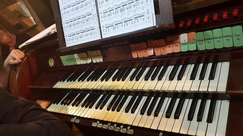 Concert d'orgue, trombons i cor